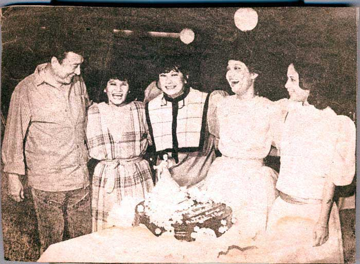 Dolphy Mommy Linda Soriano Maria S Mom Charito Soliaricel